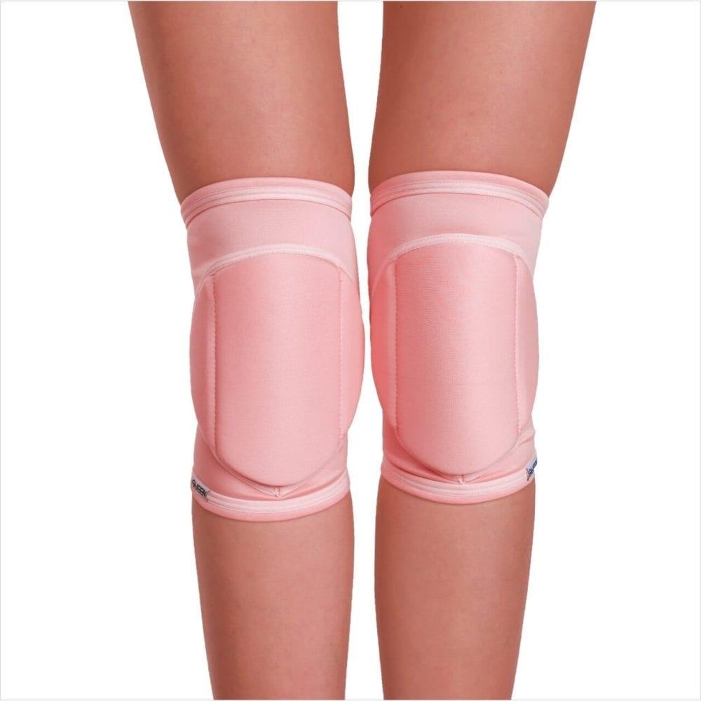 """купить наколенники для полденс модель """"Flamingo """" бренд Queen Pole Wear"""