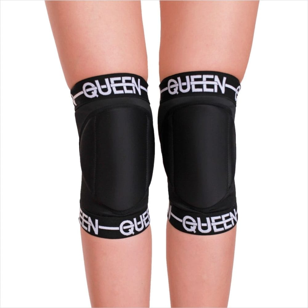 "knee pads for dancing and pole ""Queen Sport "" brand Queen Pole wear"