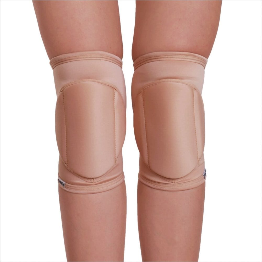 "knee pads for dancing "" Nude Latte "" brand Queen Pole wear"