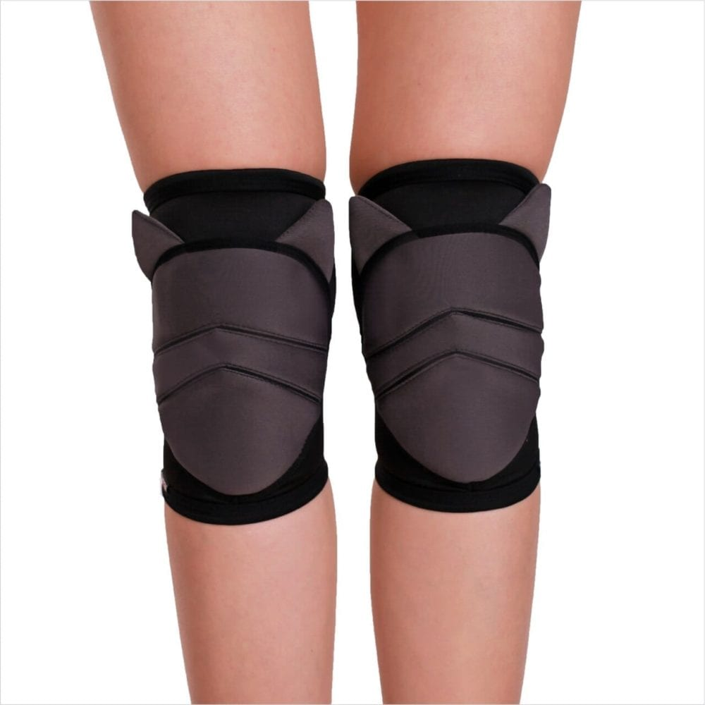 "knee pad pole dance ""Dark Kitty"" brand Queen Pole wear"