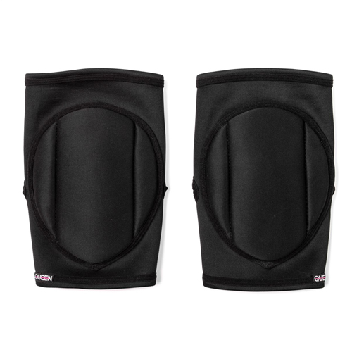 "Queen Wear brand knee pads model ""Sleek Black"""