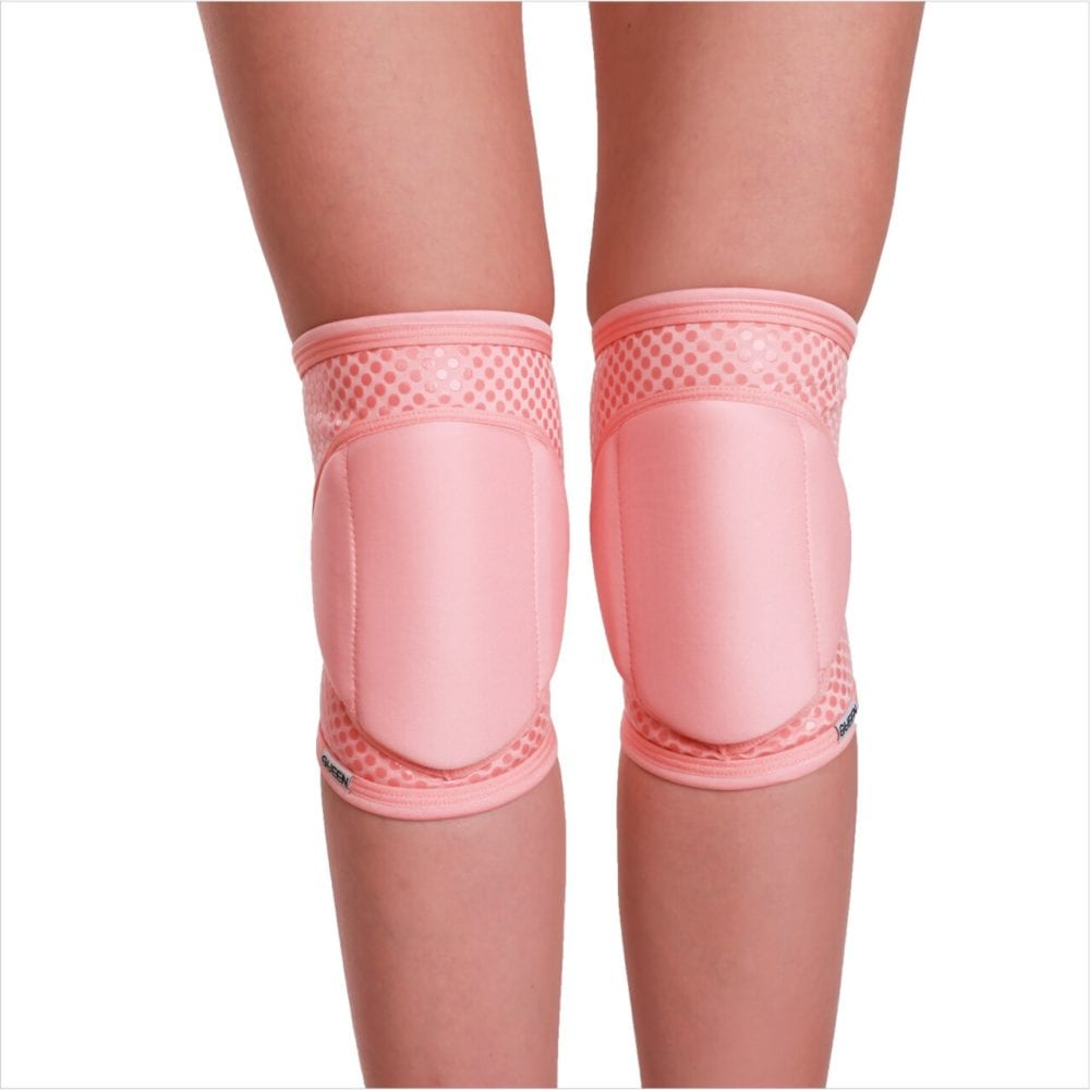 "knee pads for dancing ""Flamingo Grip"" brand Queen Pole Wear"
