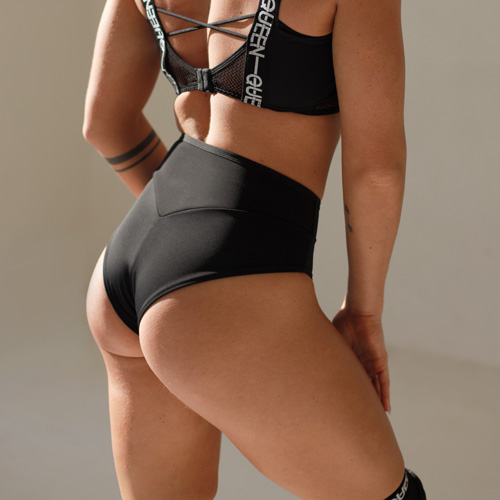 "clothes for pole dance shorts ""Classic Black"" Queen wear"