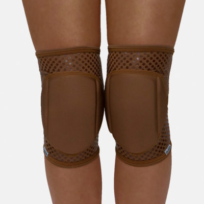 "knee pad pole dance"" Nude Mocha Grip ""brand Queen wear"