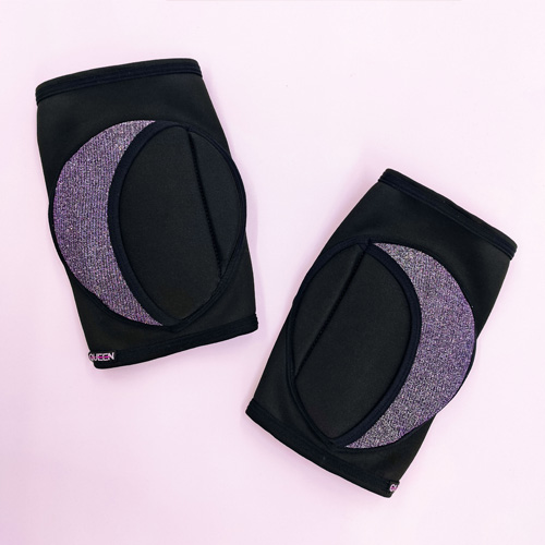 "knee pads for dancing ""Moonlight"" brand Queen wear"