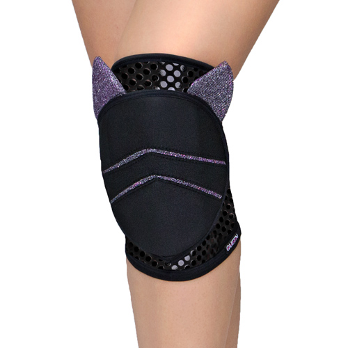 "knee pads for dancing and pole dance ""Moon Cat Grip ""brand Queen wear"