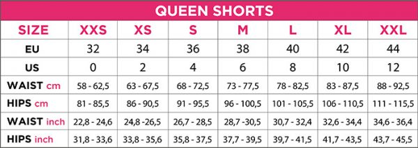 ENG SIZE SHORTS pole dance queen wear