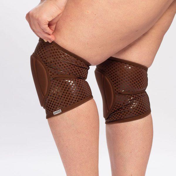 queen brand grip knee pads for dance 5