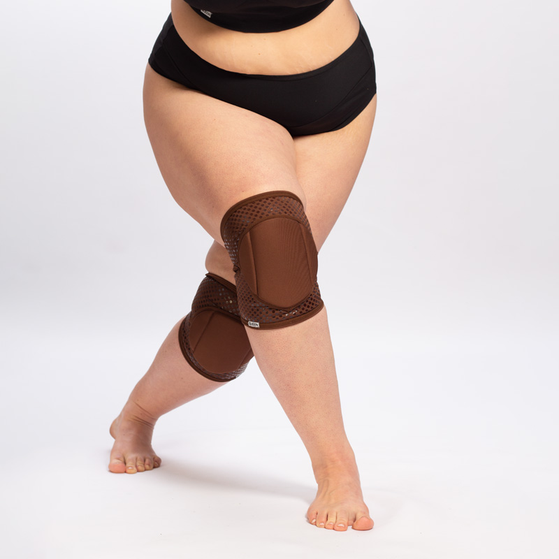 queen cacao grip knee pads for pole dance 2