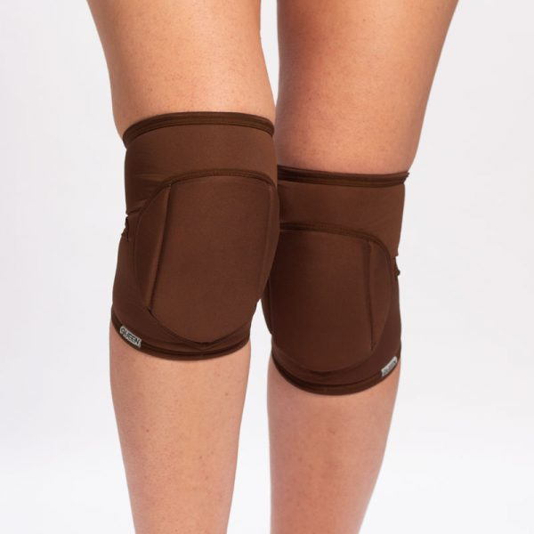 queen brand cacao knee pads for dance 6