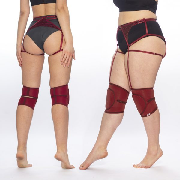 queen brand cherry knee pads for dance 3