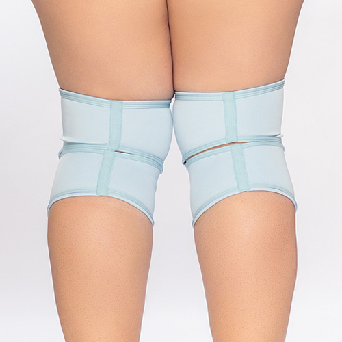 queen knee pads classic blue pole brand 4