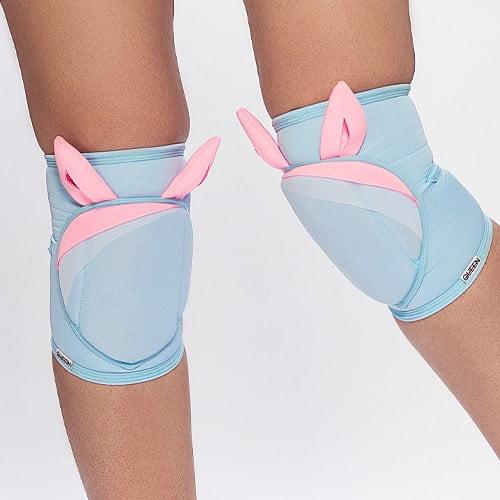 queen knee pads sweet bunnies for dance 1