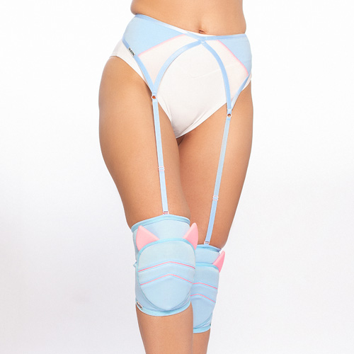 queen knee pads sweet kitty pole dance brand 3