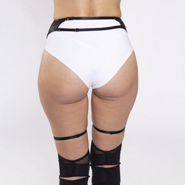 queen brand Garter belt Sweet Black for dance 8