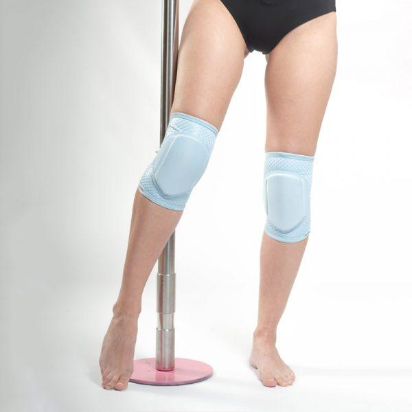 queen brand knee pads classic blue 2