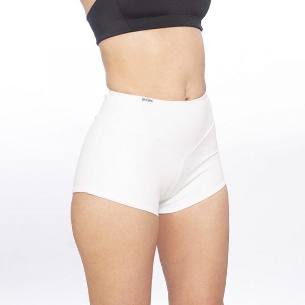 queen wear High Waisted Shorts Sporty 2
