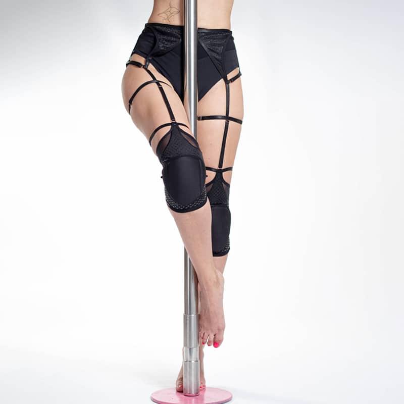 Knee pads garter belt Queen